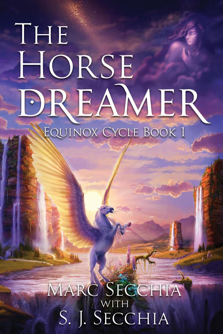 The Horse Dreamer (book cover) by BaukjeSpirit