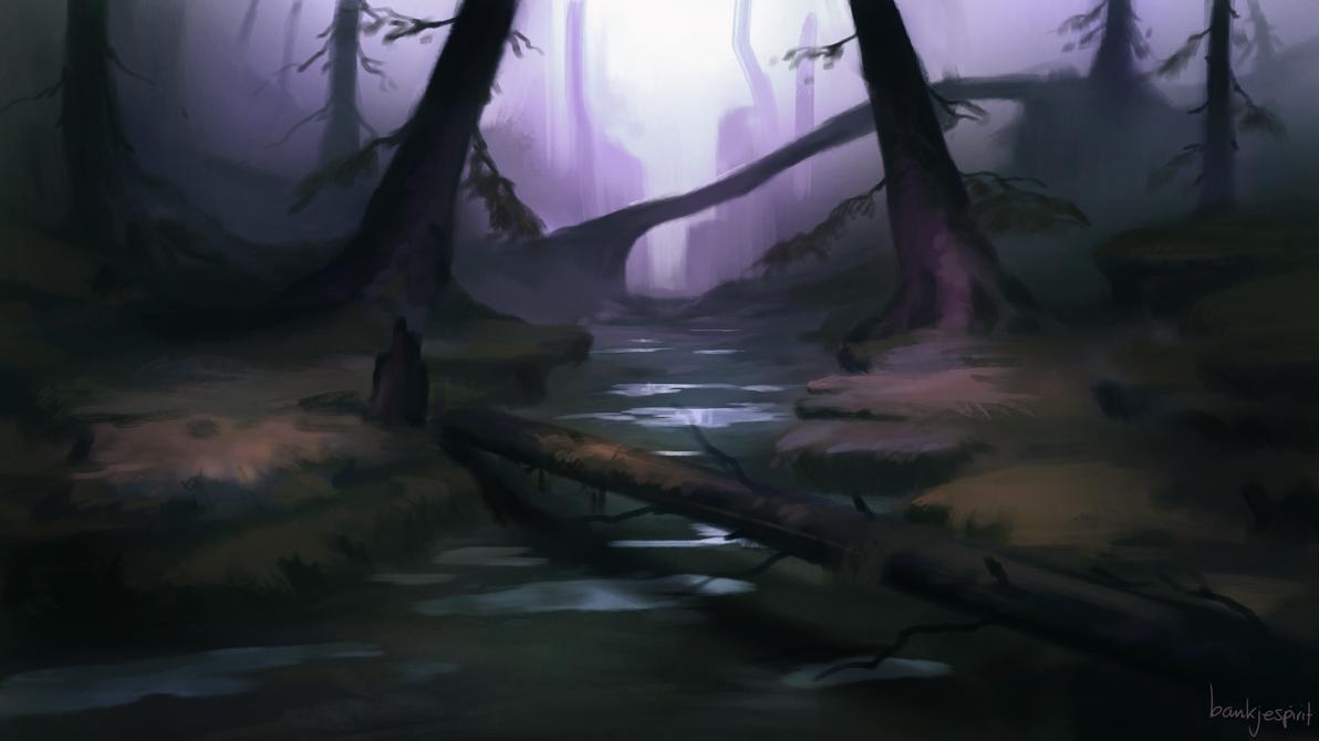 Another Forest Speedpaint by BaukjeSpirit