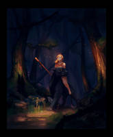 Forest Elf by BaukjeSpirit