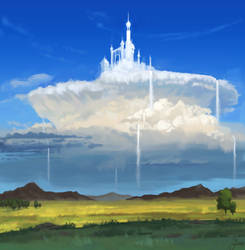 Cloud Kingdom by BaukjeSpirit