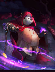 Untamed: Panda Mage by BaukjeSpirit