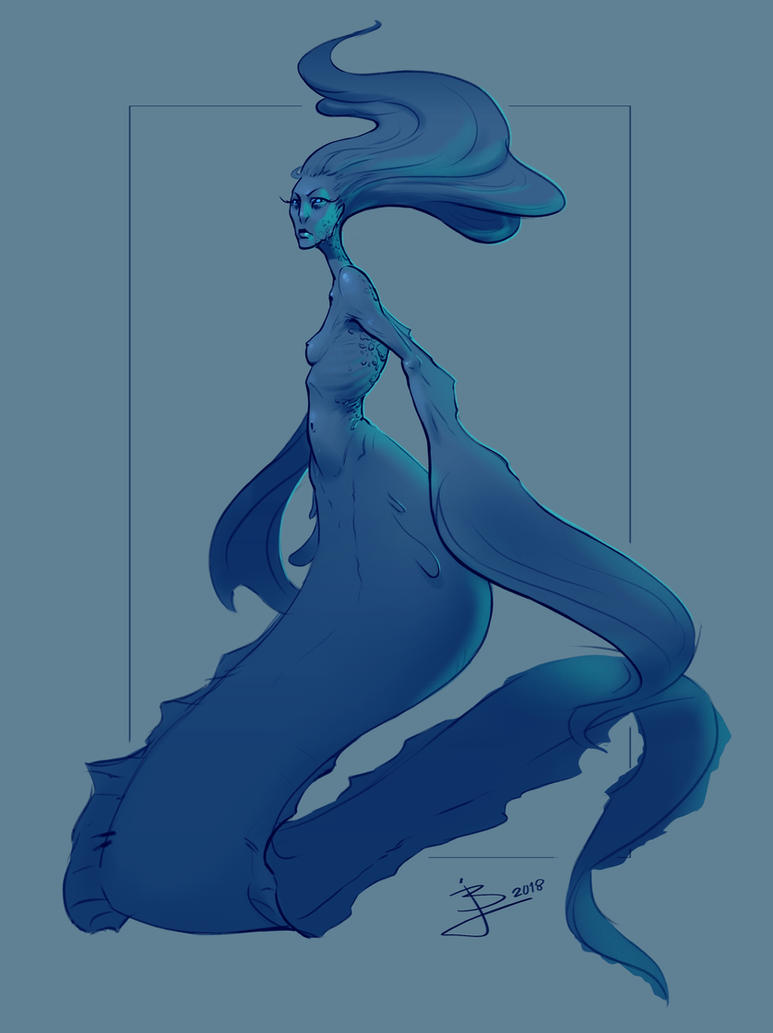 Mermaid Concept by BaukjeSpirit