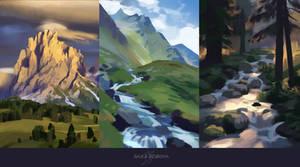 Environment Studies by BaukjeSpirit
