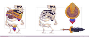 Skeleton Warrior - Character Design