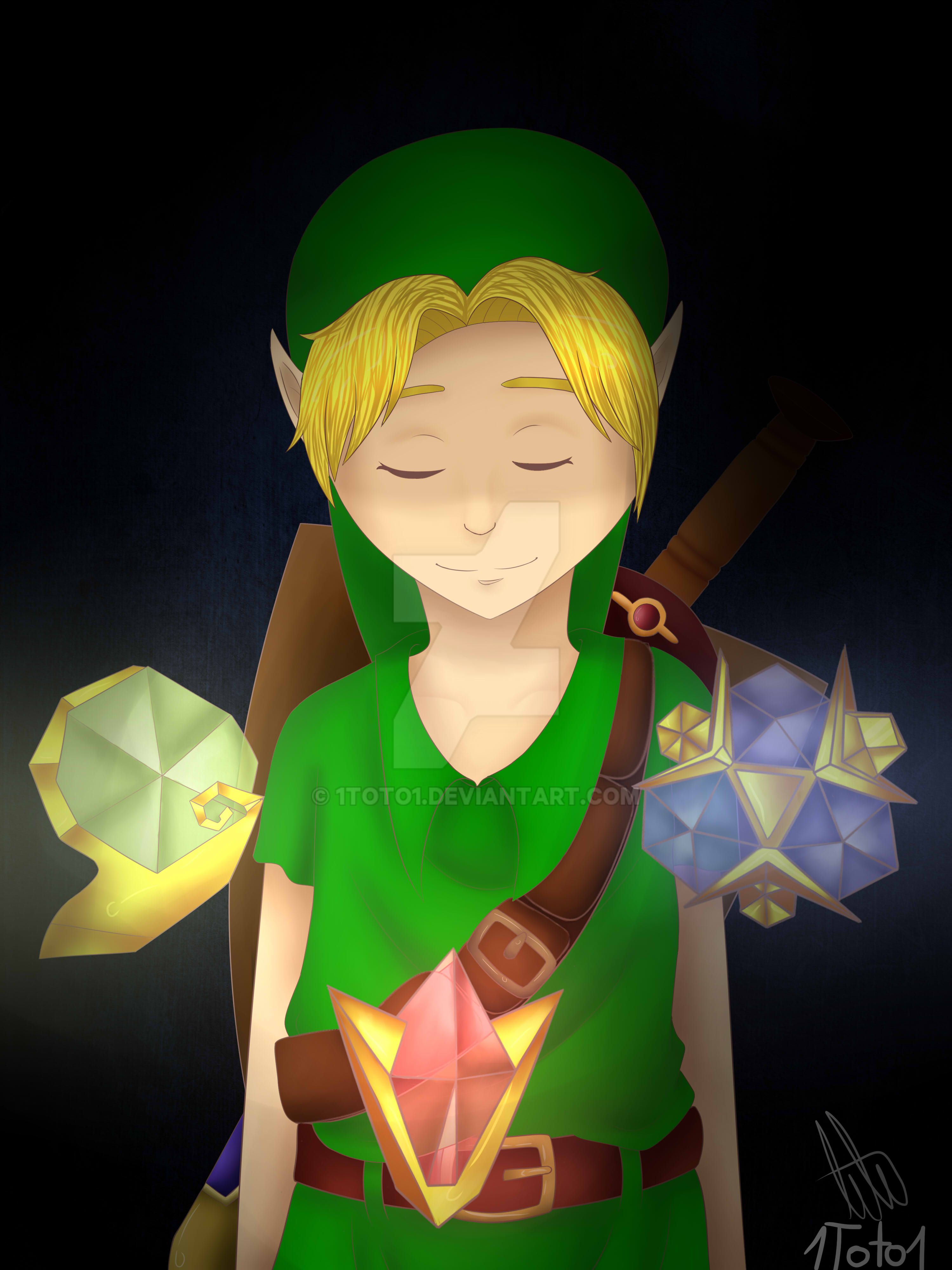 Link - Ocarina of time by 1Toto1 on DeviantArt