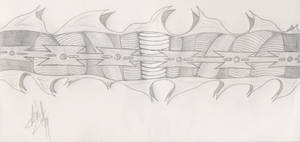 Razor Wire Necklace