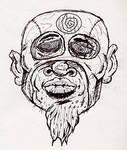 White Zombie Head