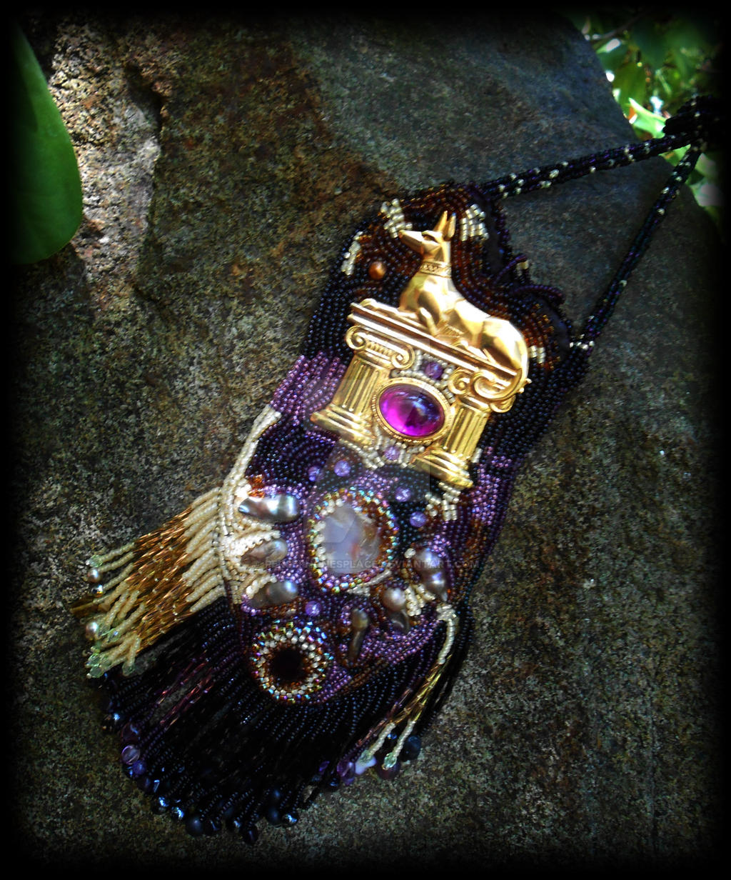 Anubis Amulet Bag by Persephonesplace