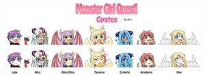 MGQ Gyate Squad Set 1