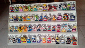 Super Smash Bros Pixel Art Roster by Kirbmaster