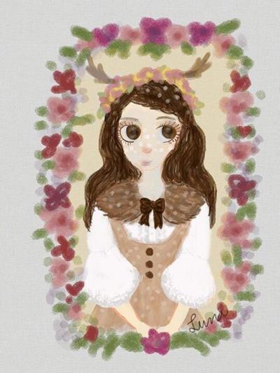 Forest Spirit by Luna-Miau