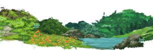 Secret Garden Background