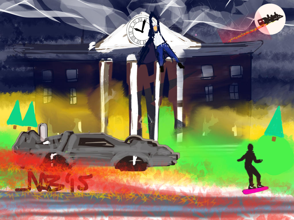 Back To The Future By Neilbrady On DeviantArt