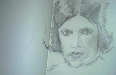Get well Carrie Fisher. Sending Thoughts and love. by Neilbrady