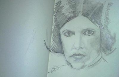 RIP Carrie Fisher by Neilbrady