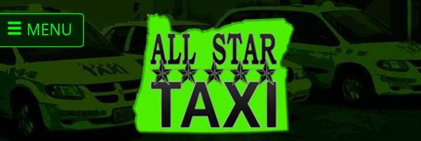 All Star Taxi Site Logo by bonenakedgraphix