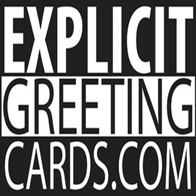 Explicit Greeting Cards Logo by bonenakedgraphix