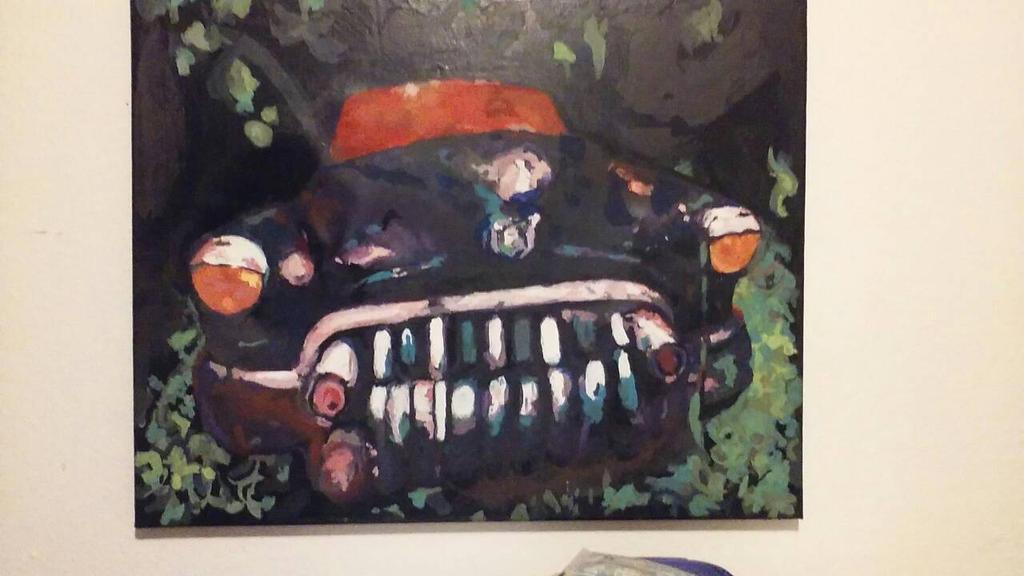 50's Sled (in paint) by bonenakedgraphix