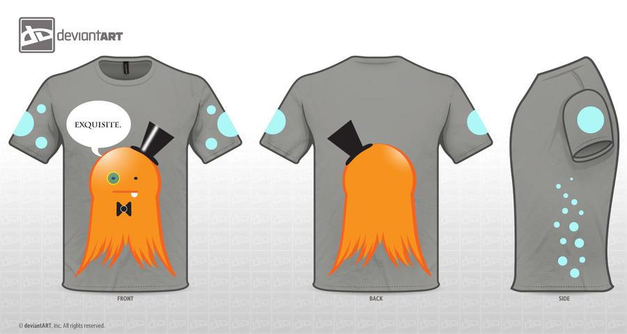 Classopus T-shirt Design by KingPuddinArt