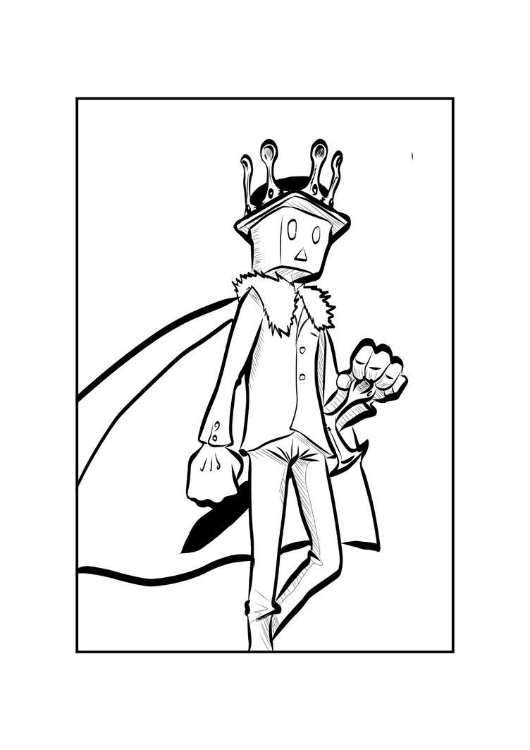 The King Has Arrived by KingPuddinArt