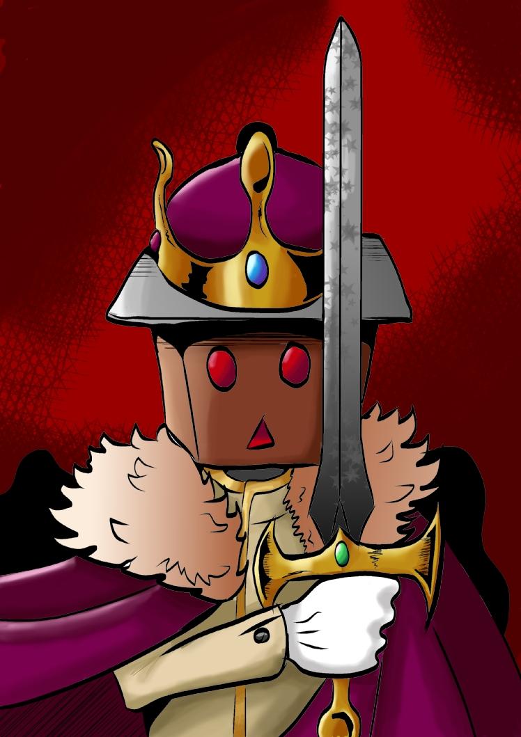 All Hail The King by KingPuddinArt