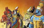 Egyptian-gods