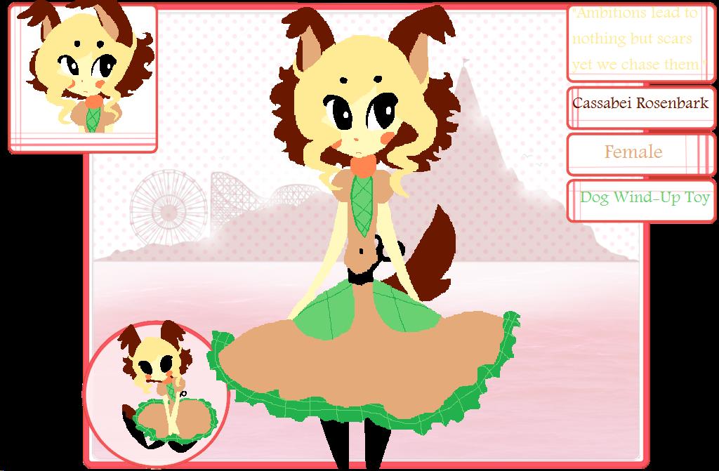 Toy Isle App: Cassabei Rosenbark by The-Pink-Green-Chibi