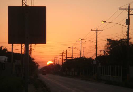 Rising Sun, in my neighborhood