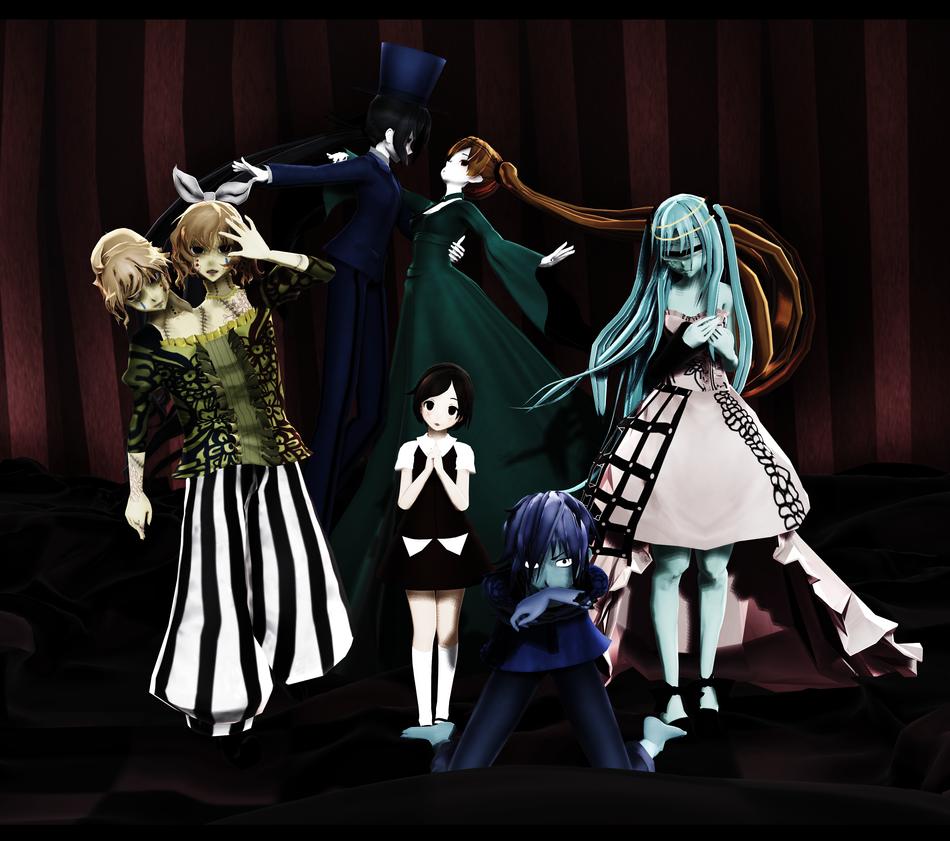 HALLOWEEN SPECIAL DL: Dark Woods Circus by Jjinomu