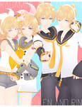 DL: Tda Kagamine Rin and Len [5300 WATCHER'S GIFT]