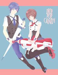 DL: tda drop pop candy [kaito and meiko] by Jjinomu