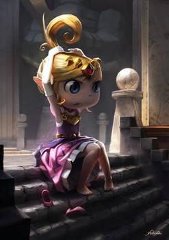 Princess Zelda - Wind Waker