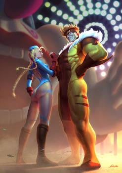 Cammy vs. Sabretooth - Marvel vs Capcom