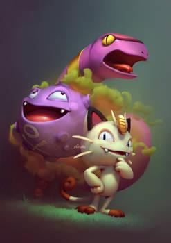Basic Pokemons: Team Rocket