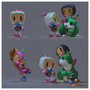 Bomberman 3 (study)