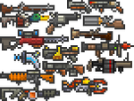 tConfig Weapons Mod Ranged Weapons
