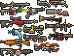 tConfig Weapons Mod Ranged Weapons by Flashkirby-99