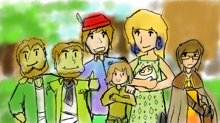 Travelling family photo by Flashkirby-99