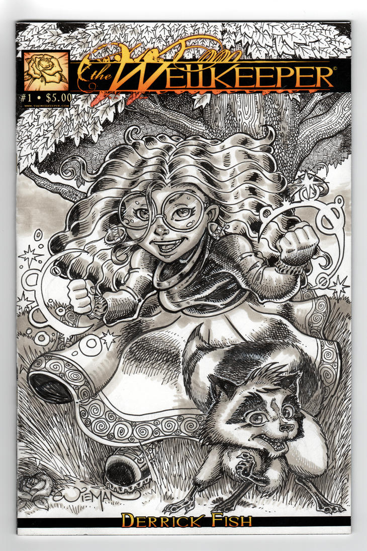 Wellkeeper Sketch Cover 1 by axerabbit