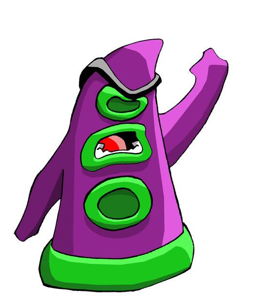 Purple Tentacle by Proto-Man
