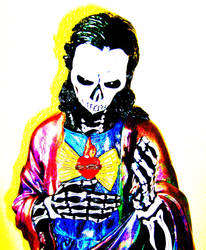 Day of the Dead Christ View 2 by coopercat44
