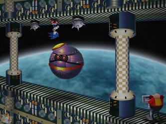 Assault on the Death Egg: Act 2 by Hazard-the-Porgoyle