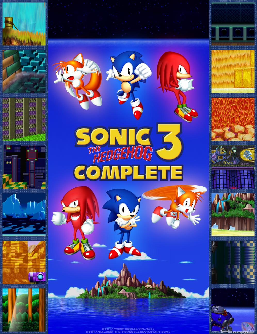 Sonic the Hedgehog 3 Complete - Across the Zones