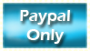 Paypal Only by akiradreams-stamps