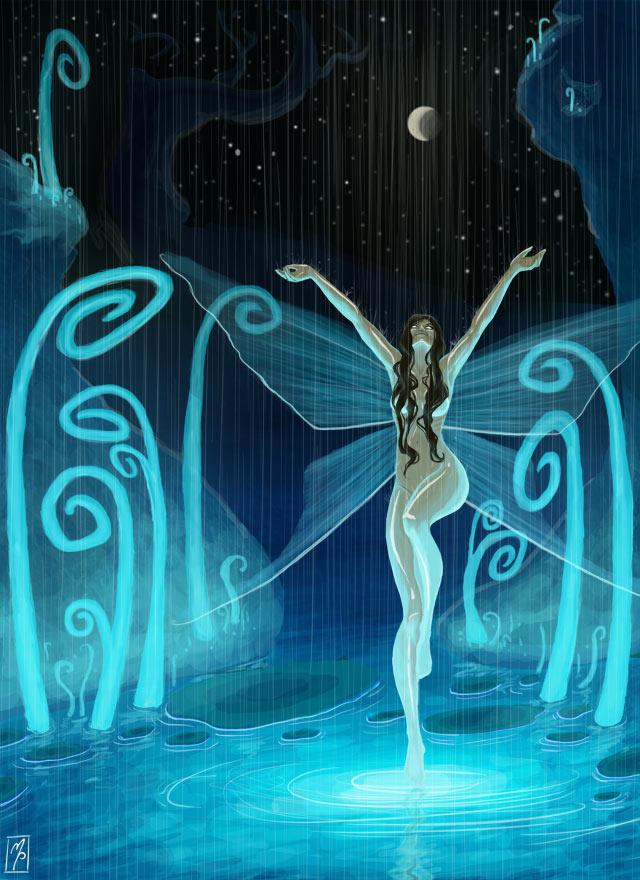 Water Fairy by MichellePapadopoulos on DeviantArt