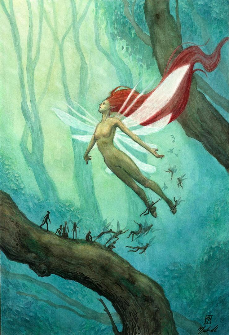 Fairy Queen by MichellePapadopoulos