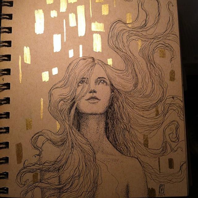 Inktober day #3 by MichellePapadopoulos