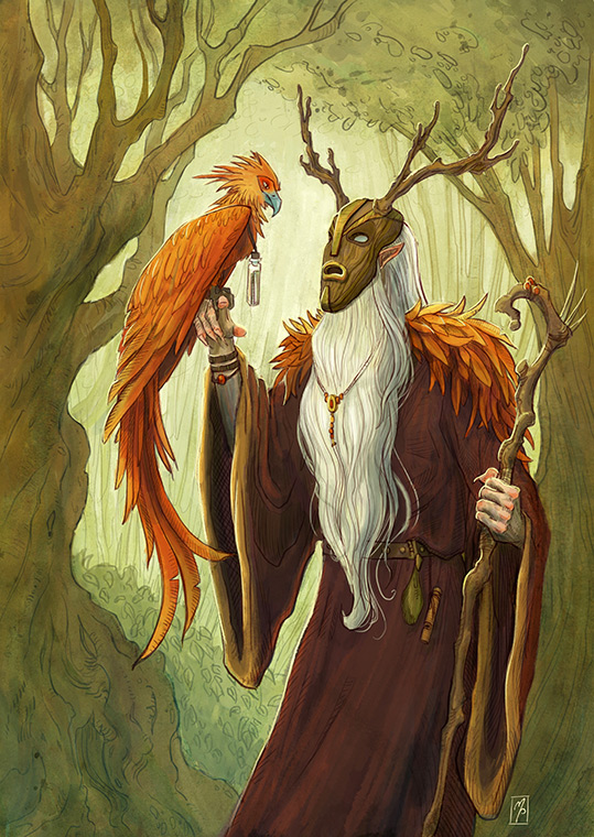 Almajest the Wizard by MichellePapadopoulos