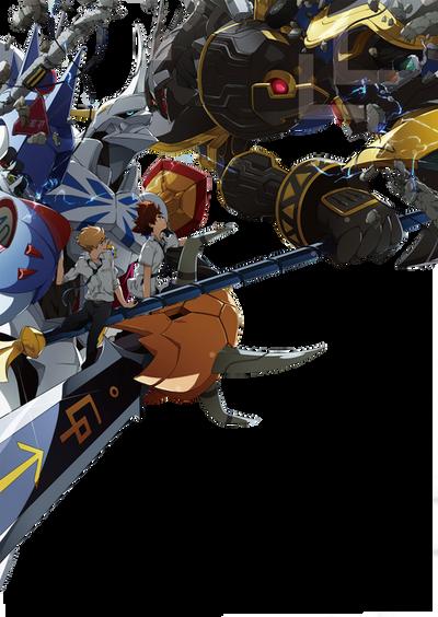 Digimon Adventure Tri Omegamon Vs Alphamon Render By Zer0stylinx On Deviantart Omegamon vs alphamon digimon tri sub español. digimon adventure tri omegamon vs