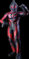 Ultraman Geed Darkness render